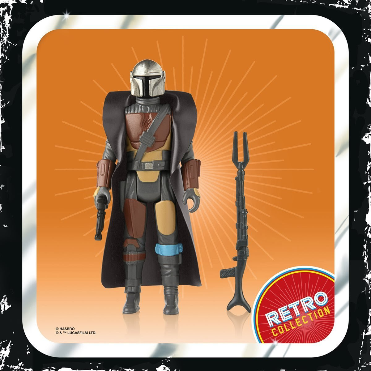 Star Wars The Mandalorian Retro Collection Action Figure