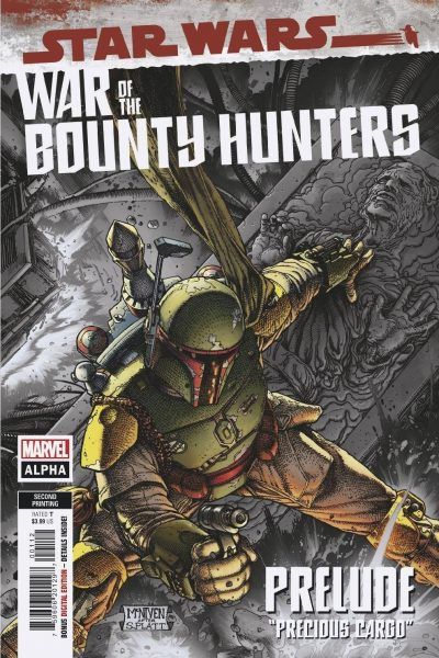 Star Wars - War of the Bounty Hunters Alpha - Second Printing