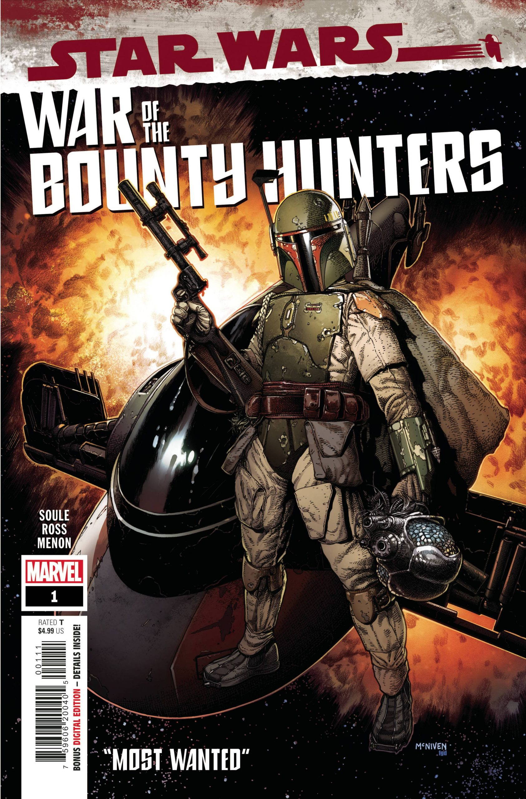 Star Wars - War Of The Bounty Hunters Number 1
