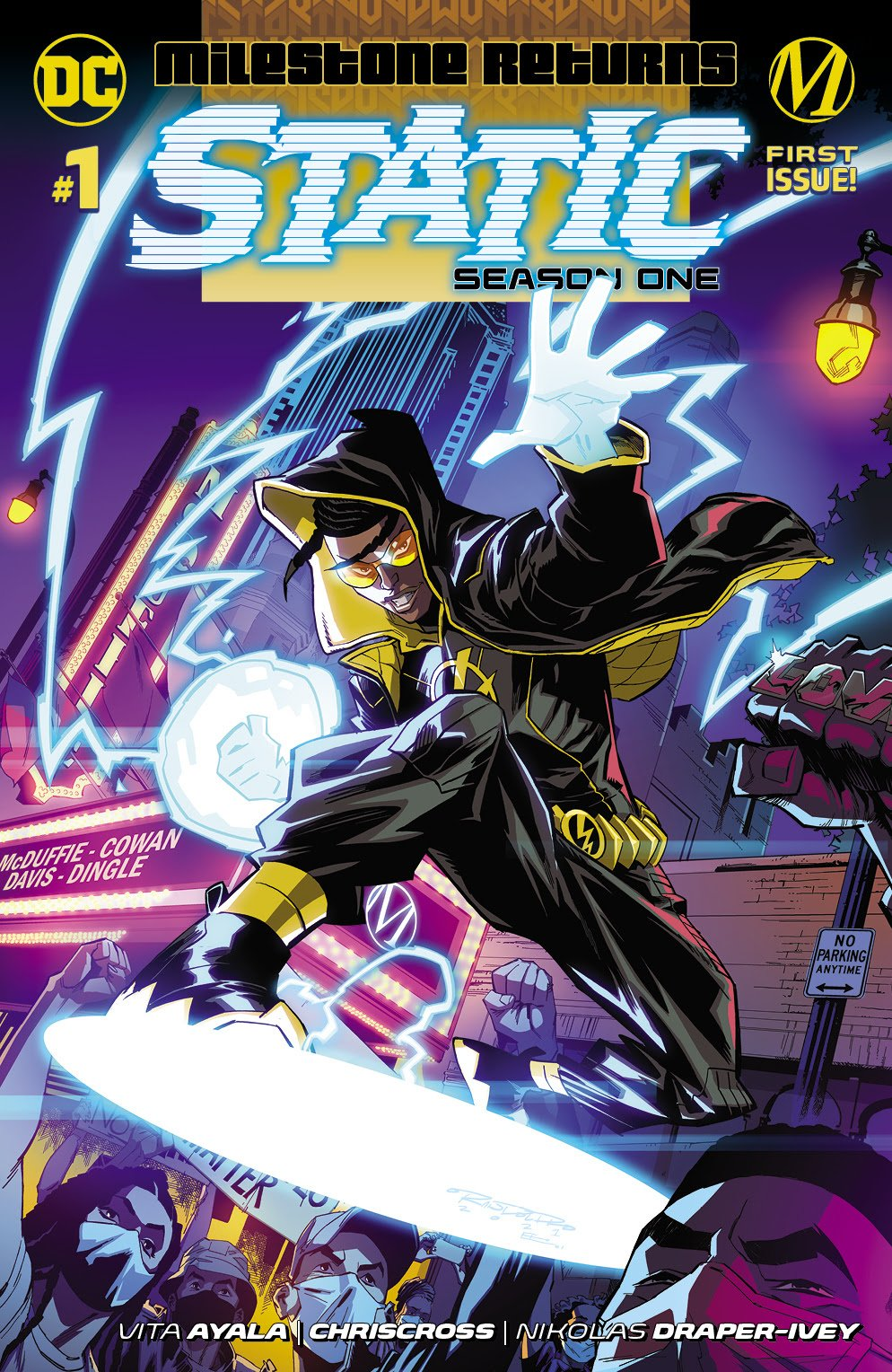 Static - Season One First Issue 1