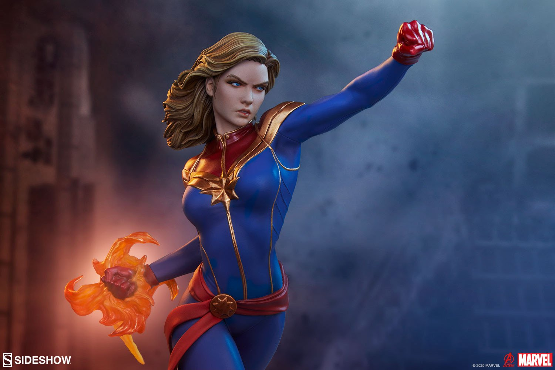 Captain Marvel Avengers Assemble Statue by Sideshow