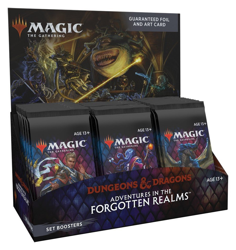 Magic the Gathering -Adventures in the Forgotten Realms - Set Boosters