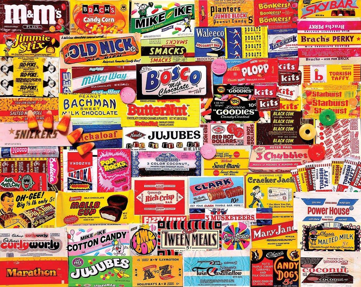 Candy Wrapper 1000 Piece Puzzle
