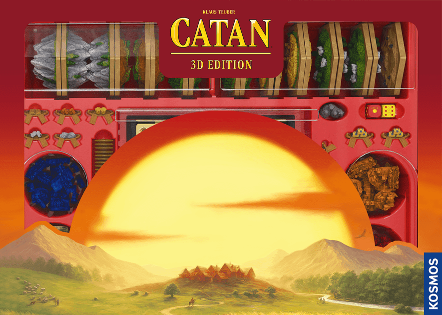 Catan 3d Edition Boardgame