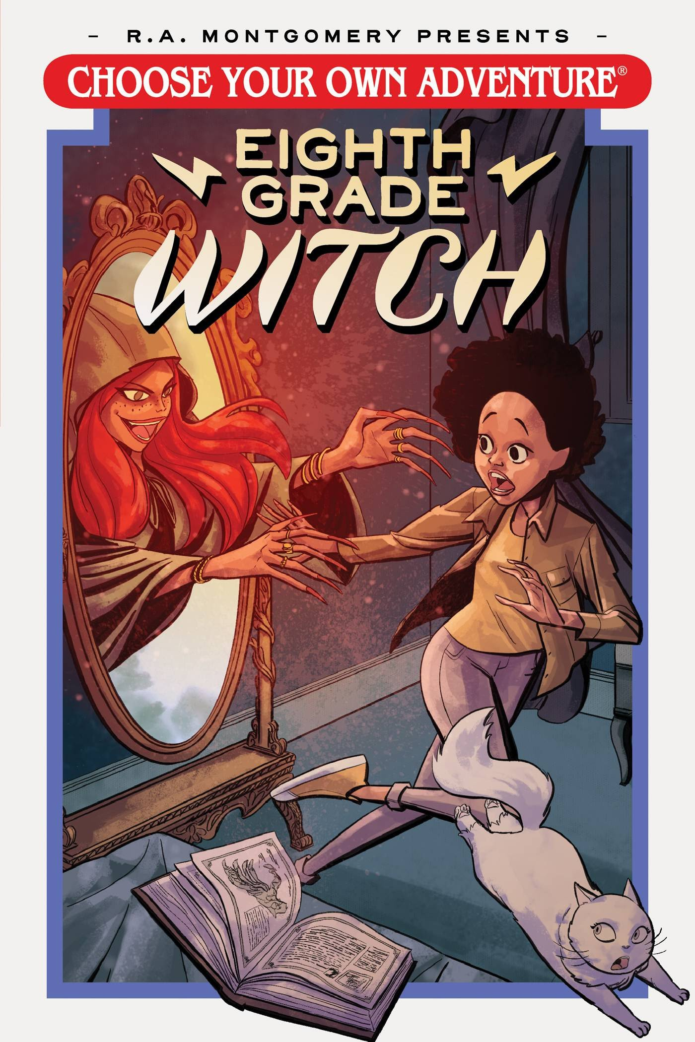 Choose Your Own Adventure - Eighth Grade Witch