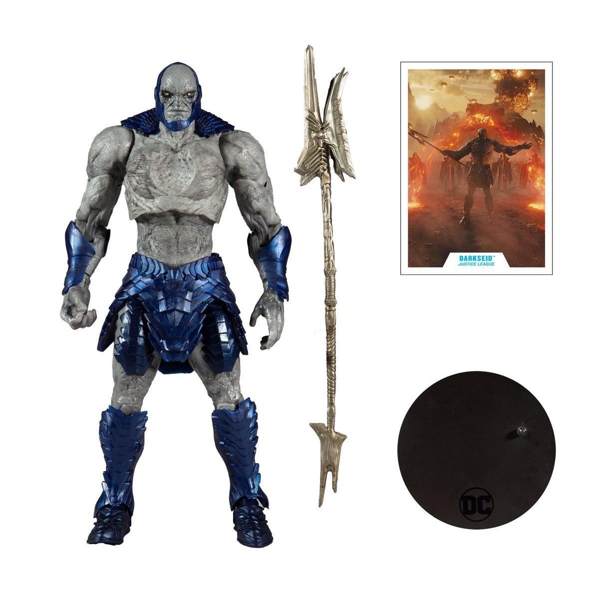 DC Zac Snyder Justice League - DarkSeid 10 Inc Mega Figure Set