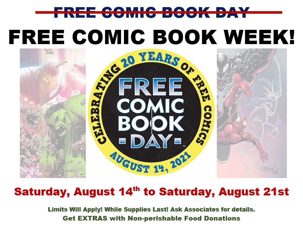 Free Comic Book Week!