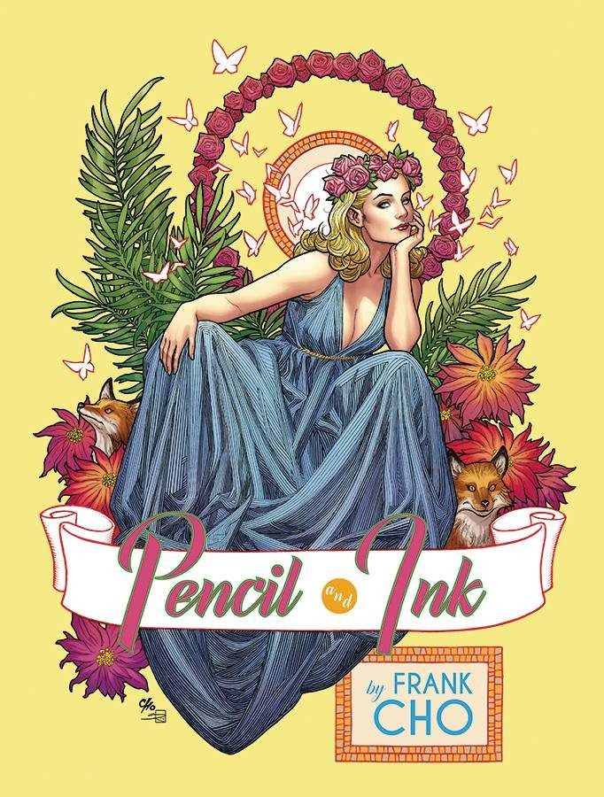 Frank Cho Pencil and Ink Soft Cover Book