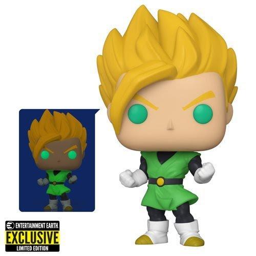 Glow-in-the-dark Super Saiyan Goku POP figure - Dragon Ball Z