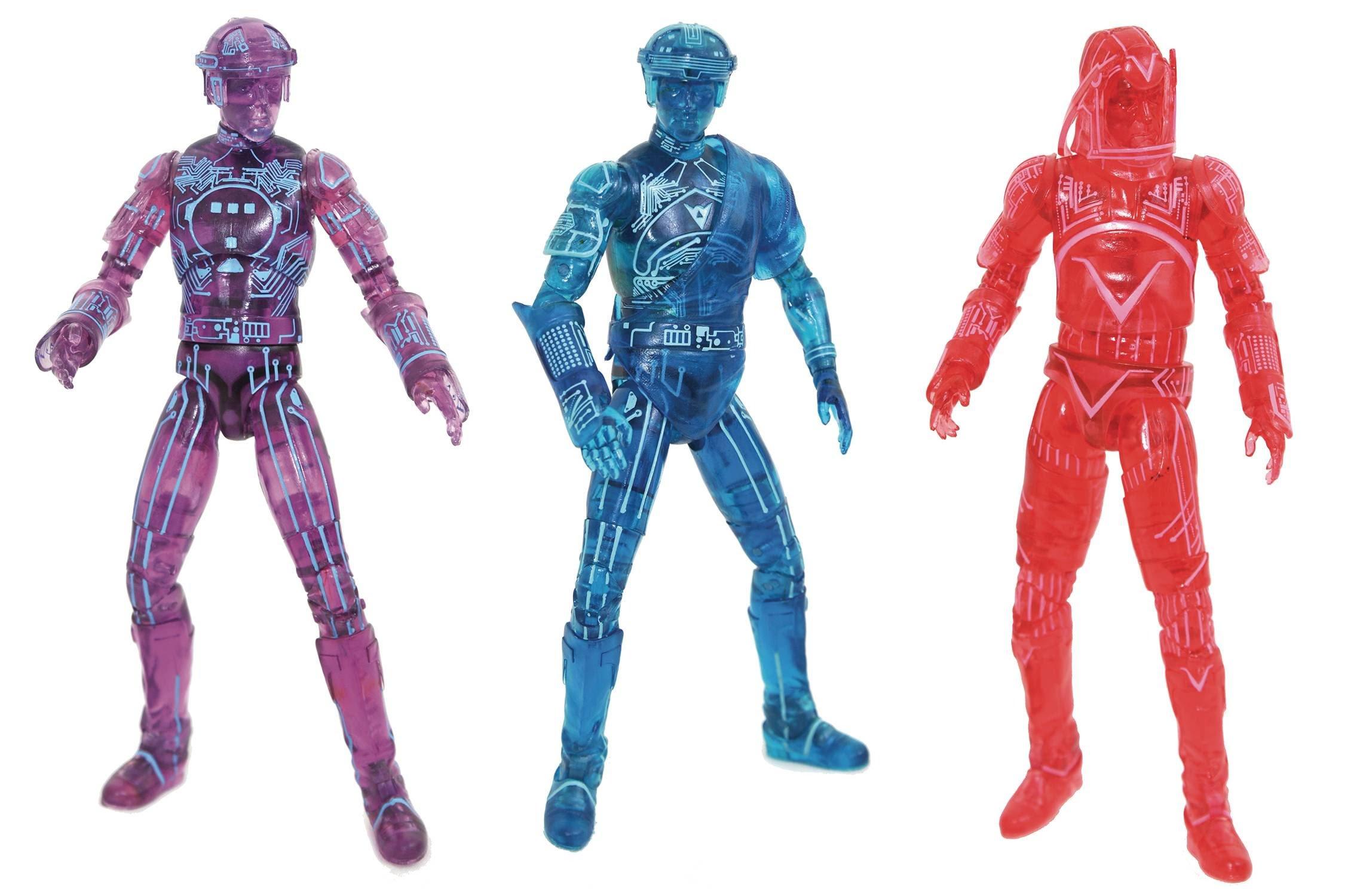 SDCC 2021 Tron Deluxe Action Figure Box Set