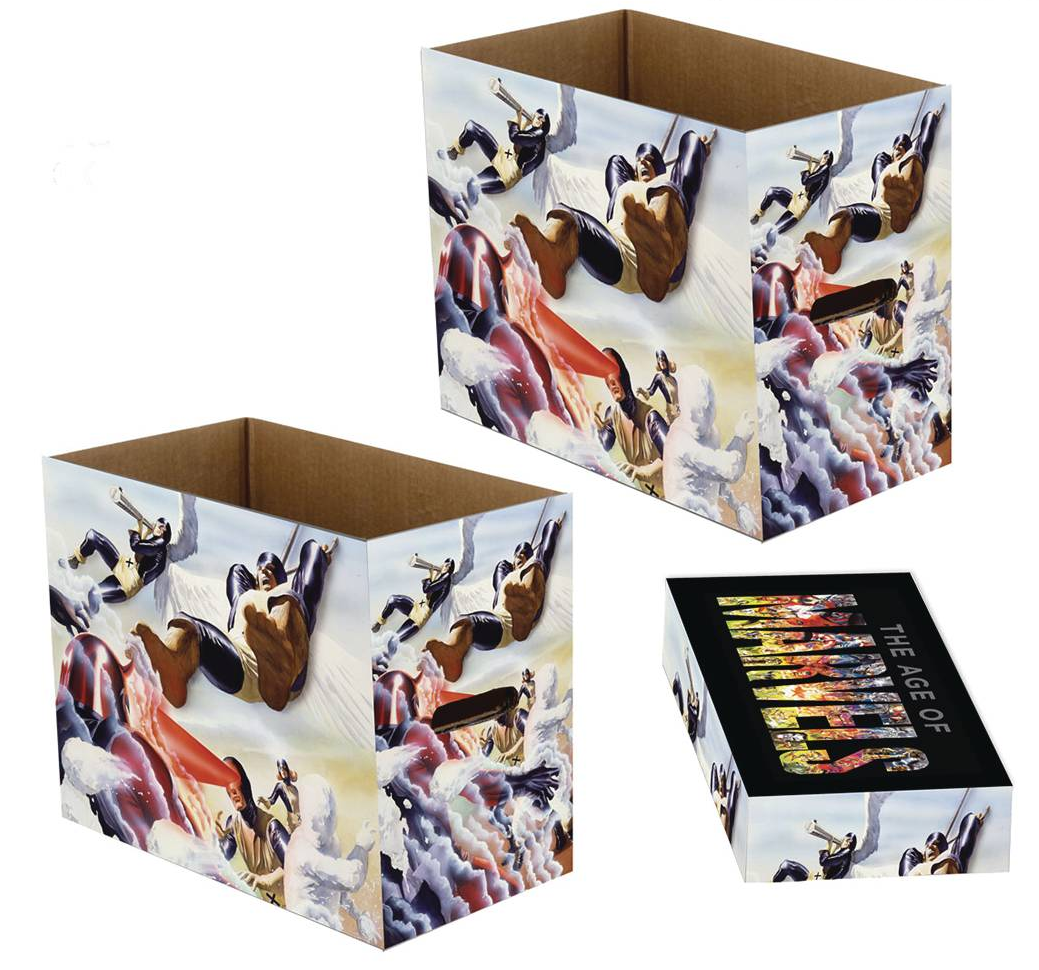 Short Comic Storage Box - Marvel Retro X-Men