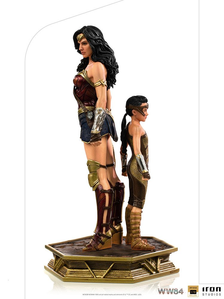 Wonder Woman and Young Diana - WW84