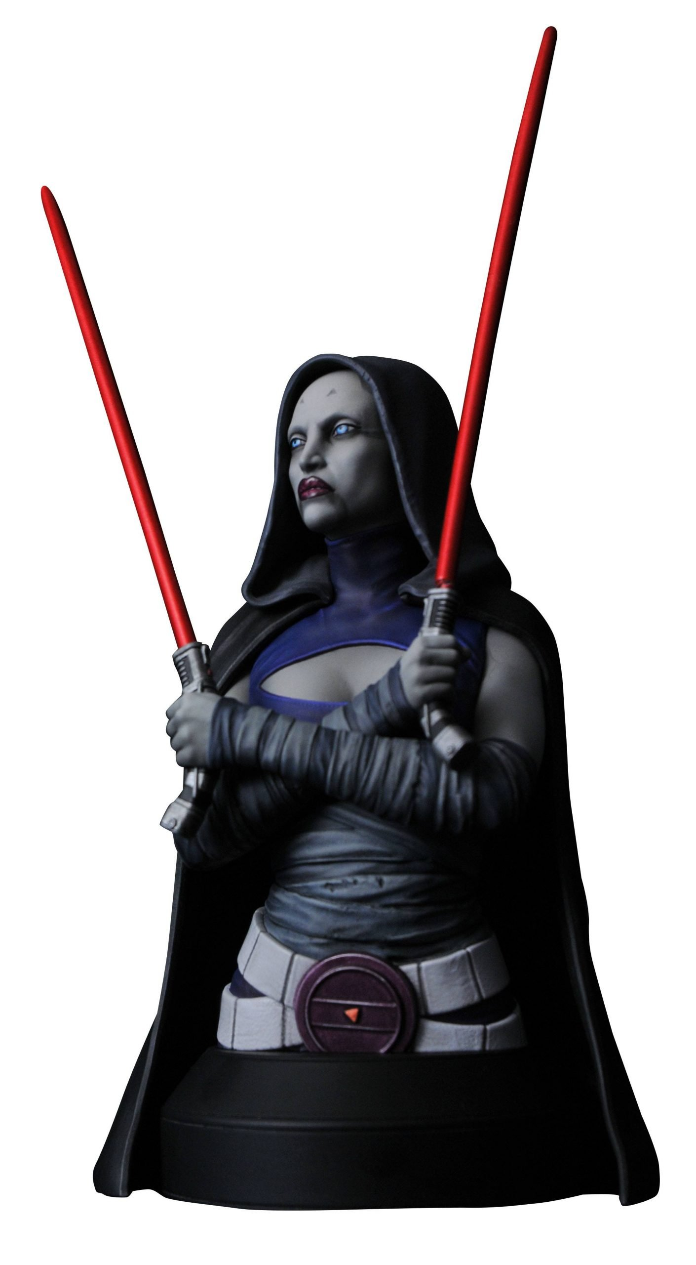 Asajj Star Wars Clone Wars 1-6 Bust
