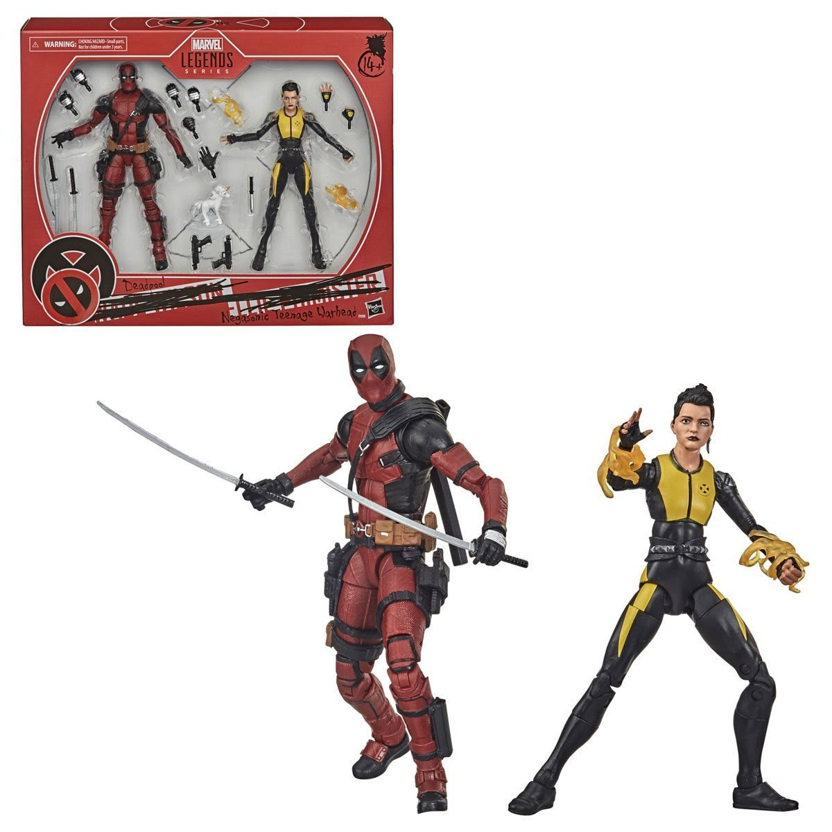 Deadpool and Negasonic 2-pack 6 inch action figures