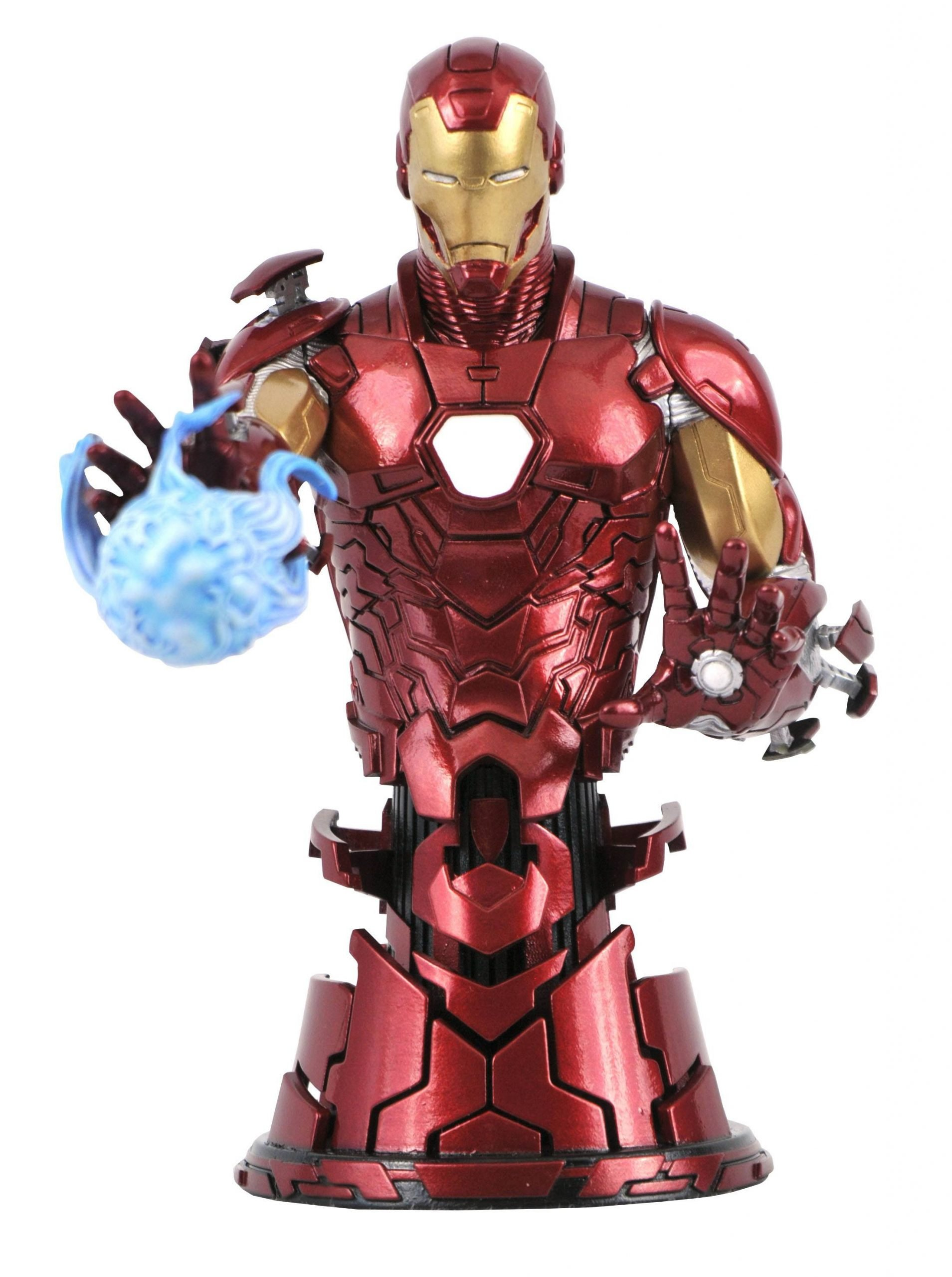 Iron Man 1-7 Scale Bust