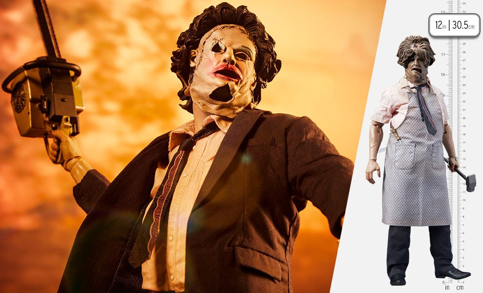 Leatherface Deluxe 1-6 Scale Figure